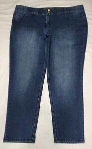 Lane-Bryant-Tighter-Tummy-Technology-Skinny-Jeans-Women-039-s-Denim-Plus-Size-26