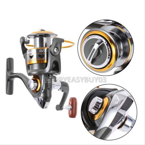 11BB 5.2:1 Ball Bearings Spinning Reels Saltwater Fishing Reel Speed Gear Spool