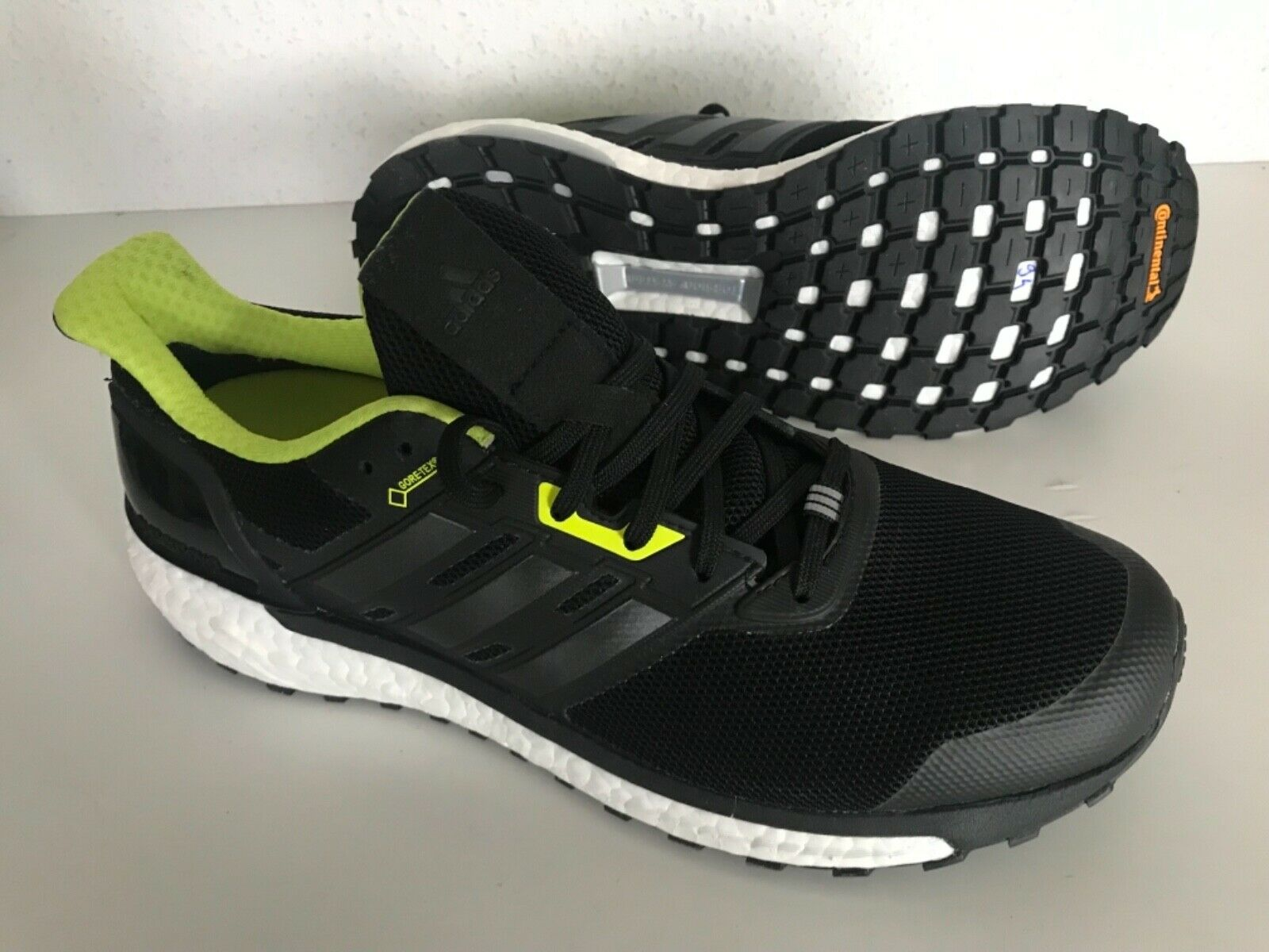Nuevo ADIDAS SUPERNOVA GTX GORE-TEX para hombres zapatos para correr US 9.5 BB3669