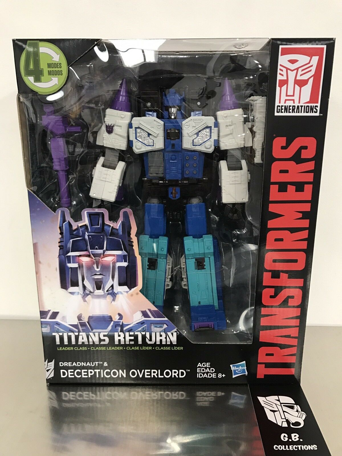Transformers Titans Return Overlord & Dreadnaut Leader Class New Sealed