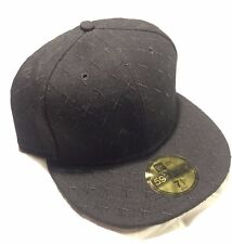 Kaws Original Fake x New Era 59FIFTY Cap Size 7 1/2  Black X Pattern Companion