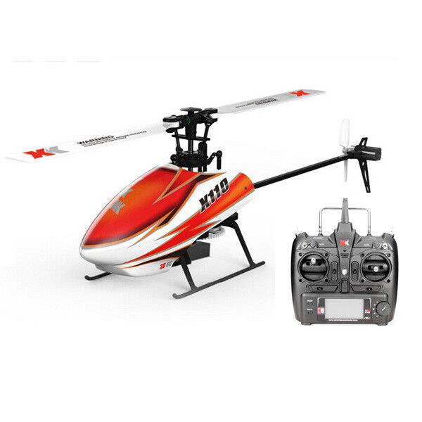 XK K110 Blast 6CH sistema 3D6G Brushless RC Elicottero RTF