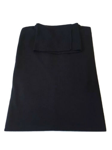 Brand New John Smedley Richards Polo Neck Jumper In Midnight Size XL