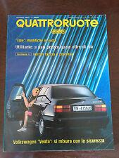 Quattroruote 440 giugno 1992 - Jaguar XJR S, BMW M5, Alfa Romeo 155 Q4