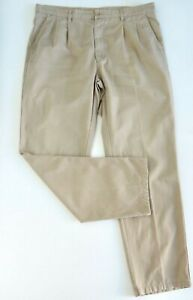 ADVENTURE-ONE-Mens-Regular-Fit-Chino-Pants-Classic-Comfort-Size-97-W38-Beige