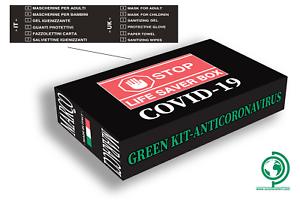 Box-Nero-Kit-della-salute-Protezioni-Gel-Igienizzante-Salviette-Fazzoletti
