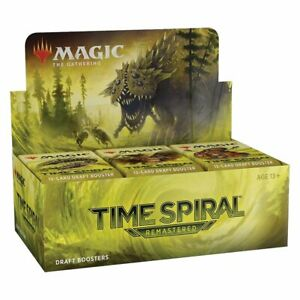 Time Spiral Remastered Booster Box English Sealed Magic the Gathering