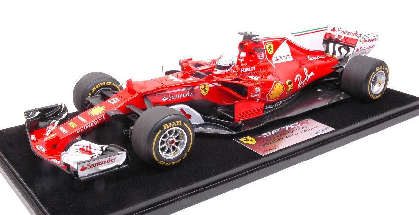 Ferrari SF70H S. Vettel 2017  5 Winner Australian Gp C  Vetrina Formula 1 1 18