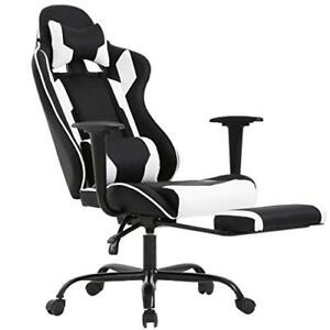 Wondrous Details About Gaming Office Chair High Back Pu Leather Racing Reclining Computer Chair Ncnpc Chair Design For Home Ncnpcorg