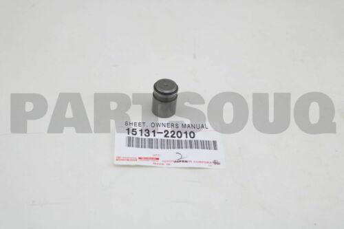 1513122010 Genuine Toyota VALVE OIL ADJUSTING 15131-22010