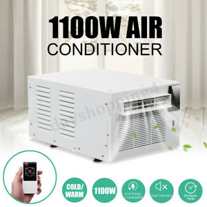 1100W-Window-Wall-Box-Refrigerated-Air-Conditioner-Cooler-Heat-Pump-Remote-220V