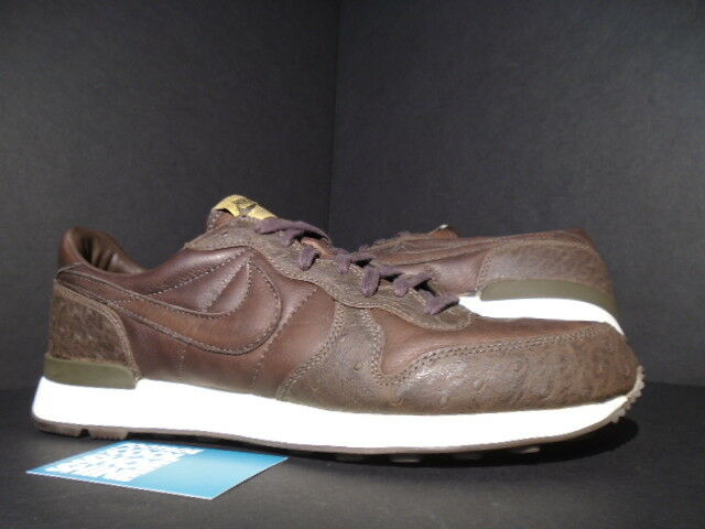 2004 NIKE AIR INTERNATIONALIST LEATHER SOPHNET OSTRICH BROWN WHITE 310662-221 11