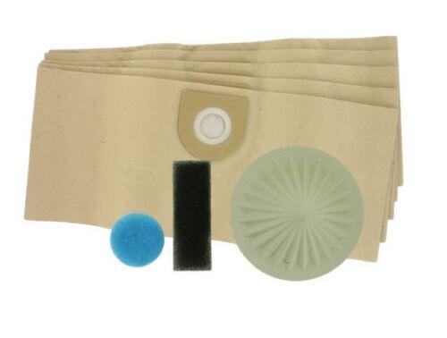 5 x sacchetti per aspirapolvere più filtro impostato per Vax 9131,8131,6121,6130,6135