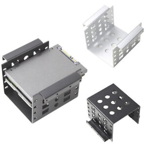 1pc Aluminum 4 Bay 2.5 in SATA HDD SSD to 3.5 in Bracket Adapter #2