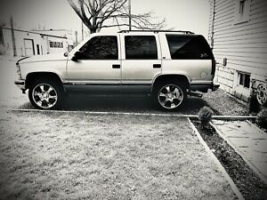 1999 chevy tahoe as is