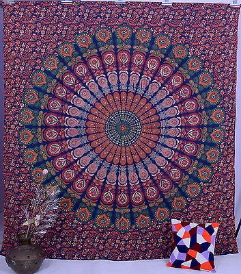 Indian Mandala Tapestry Wall Hanging Blanket Hippie Boho Beach Throw Bedsheet XL