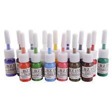 Makeup Permanent 15 Color Tattoo Inks Set 5ml Pigment Paint Kit US