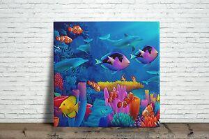 Sea Life Decorative Wall Ceramic Tile Or Inches EBay - 4 inch decorative ceramic tile