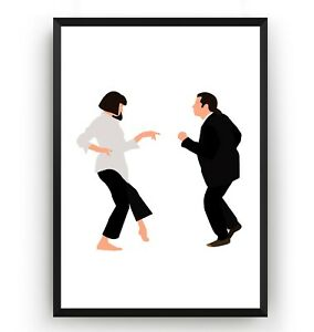 Pulp-Fiction-Poster-Wall-Art-Print-Decor-TV-Show-Movie-Room-Gift-Unframed
