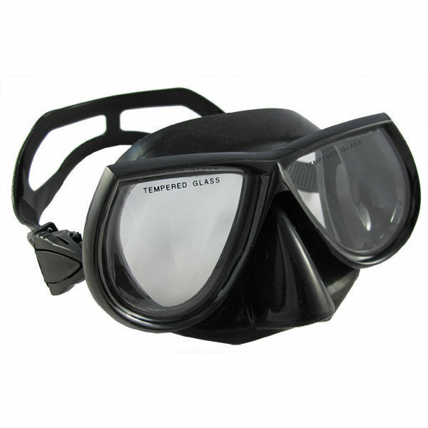 Scuba Diving Spearfishing Free Dive Low Volume Green Silicone Mask