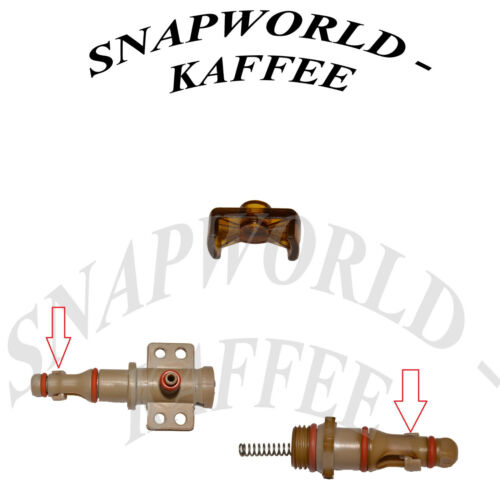 supporto valvola rubinetto riduci Incanto Vienna TREVI CAFE Nova SAECO Gleitstück F