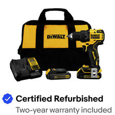 DeWalt DCD708C2R ATOMIC 20V MAX BL 1/2 in. Drill Kit Certified Refurbished