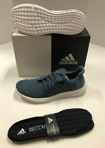 Details about Adidas Recovery Insoles Shoes 24 Dark Blue Mesh Training Mens 13
