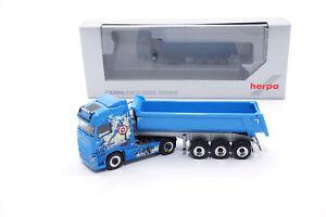 932318-Herpa-Volvo-FH-Gl-Rundmulden-SZ-034-BW-Transporte-Avengers-Truck-034-1-87
