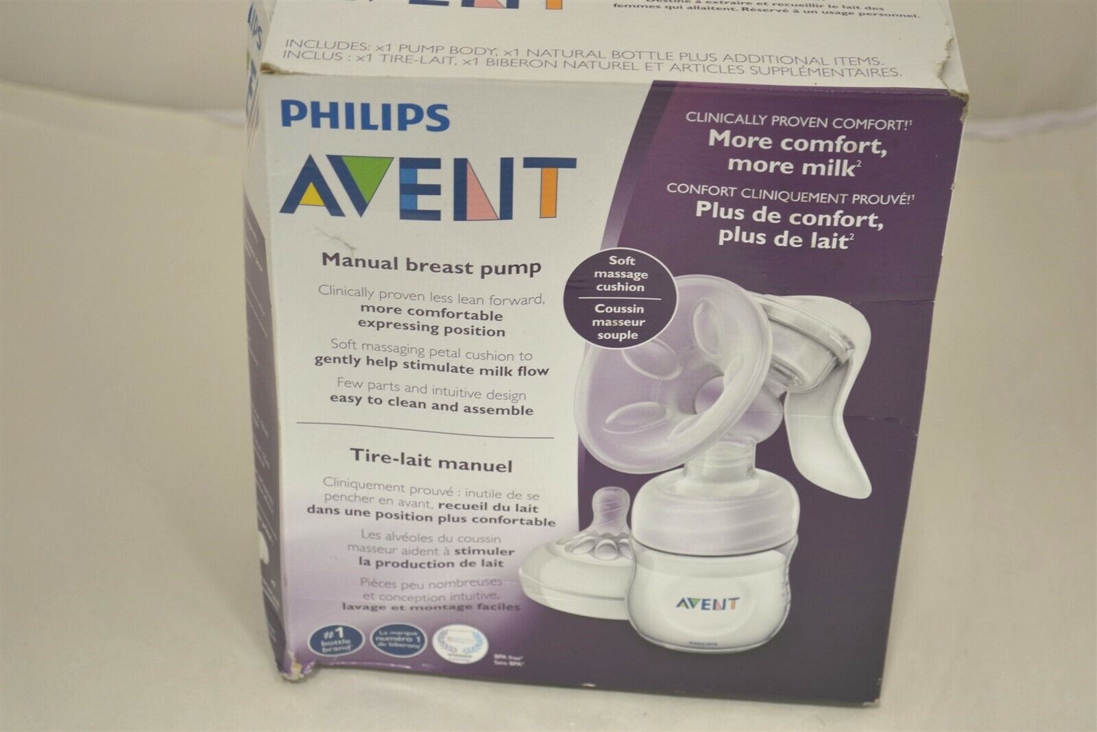 Philips Avent Manual Comfort Breast Pump For Sale Online Ebay