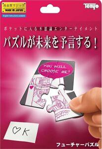 Tenyo MAGIC Trick FUTURE PUZZLE JAPAN