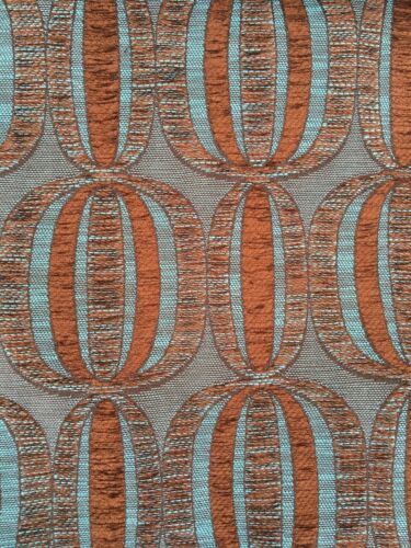 Retro Ball Watermelon Pattern Chenille Upholstery Fabric Material 140cm wide