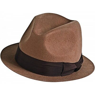 Rorschach Deluxe Hat Mens The Watchmen Superhero Halloween Fancy Dress Costume