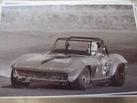 1966 Chevrolet Corvette Race Car Or Rally Car ? 11 X 17 Photo / Picture