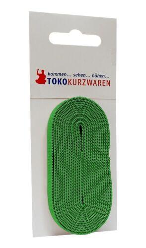 en color cinta elástica sb hoja verde 2m x 10mm 1.60 euros//metros
