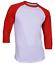 Raglan-Men-039-s-Casual-Baseball-T-Shirt-3-4-Sleeve-Plain-Jersey-Tee-S-2XL thumbnail 18