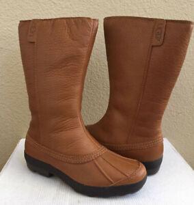 Ugg Belfair Chestnut Classic Tall Duck Toe Waterproof Boot