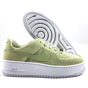 Details about Nike W AF1 Sage Low Air Force 1 Olive Aura Green White  AR5339-301 Women's 8-9.5