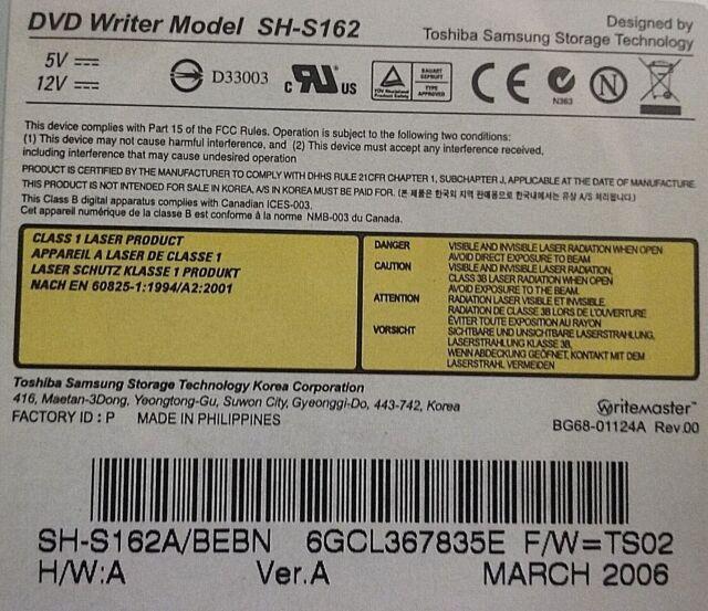 SH S162A WINDOWS XP DRIVER DOWNLOAD