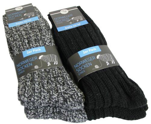 10 Paar Norweger Socken Wollsocken Wintersocken Wolle Norwegersocken STRICKART