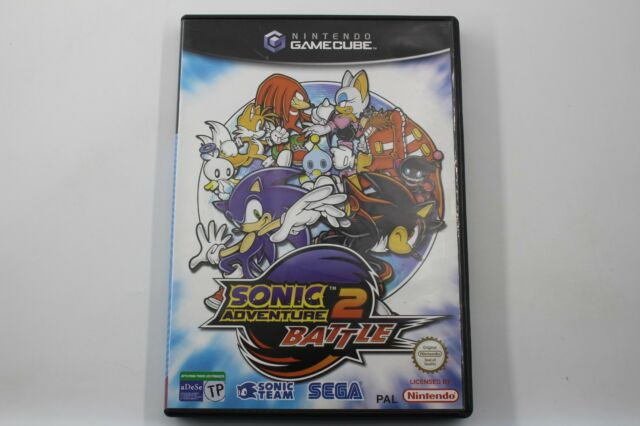 NINTENDO GAMECUBE SONIC ADVENTURE 2 BATTLE COMPLETO PAL ESPAÑA GAME CUBE GC