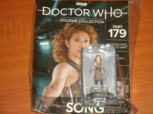 Part #179 RIVER SONG Hello Sweetie Eaglemoss BBC Doctor Who Figurine Collection