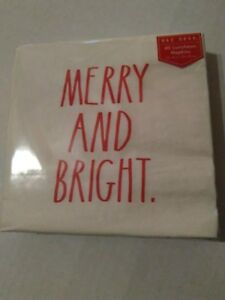 Rae-Dunn-Merry-And-Bright-Beverage-Napkins-40-Red-LL-3-Ply-Disposable-Cocktail
