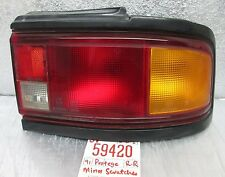 1990-1991 Mazda Protege Right Passenger rear oem tail light 420 1D1