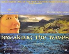 MOVIE POSTER~Breaking the Waves 30x40 British Quad Emily Watson Katrin Cartlidge