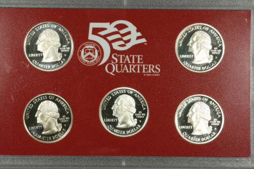 Silver Proof State Quarters 2005 S United States Mint
