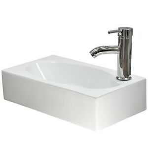Small Hand Sink : ... > Sinks > See more Cloakroom Basin Sink Bathroom Compact Wall Mou