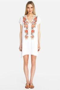 Johnny-Was-Paola-Embroidered-Drape-Tunic-Dress-Boho-Chic-J36219-NEW