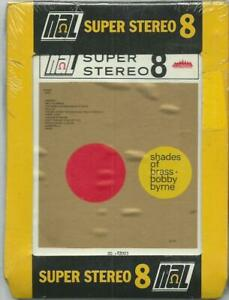 8-Track-8-Spur-Tonband-Bobby-Byrne-Shades-of-brass-OVP-Vintage-Lounge-Jazz