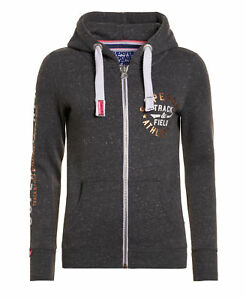 7609380971c Image is loading New-Womens-Superdry-Track-amp-Field-Ziphood-Racer-