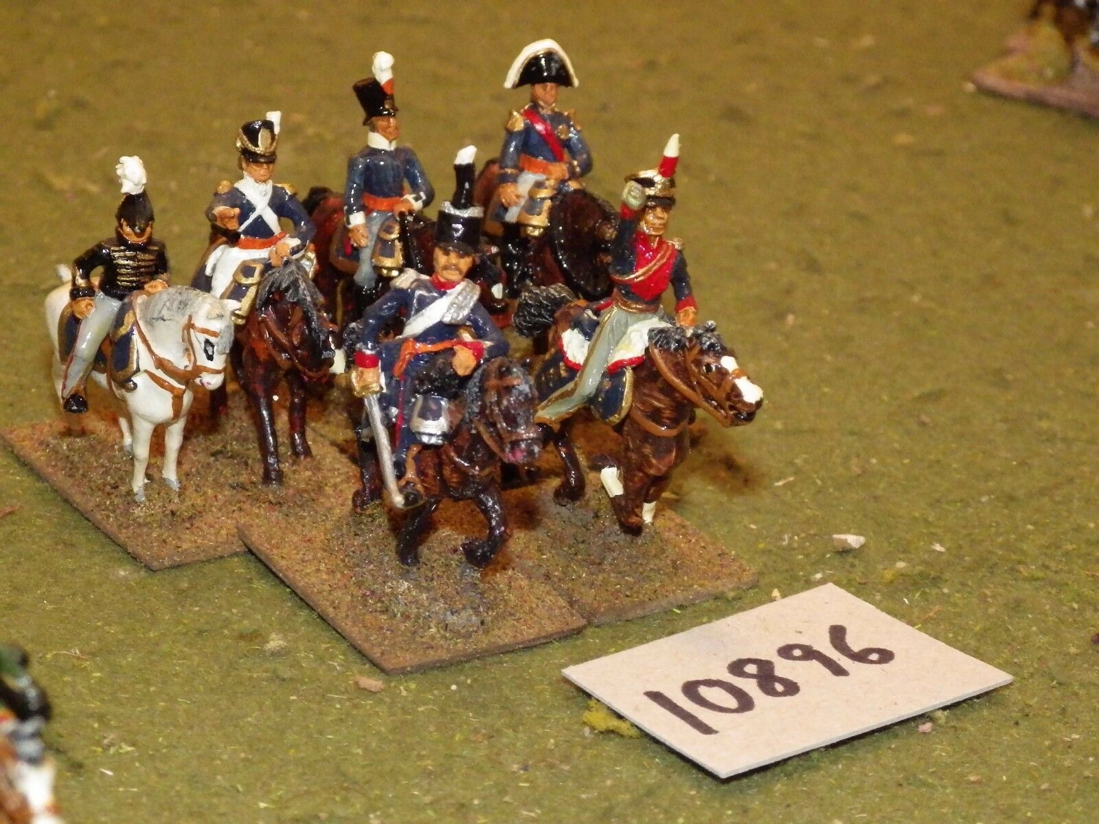 25mm 25mm 25mm napoleonic   british - command 6 cavalry - command (10896) 4fea9a